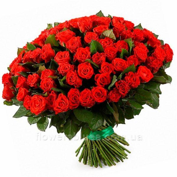 великі букети троянд