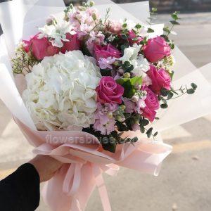 шикарний букет квітів