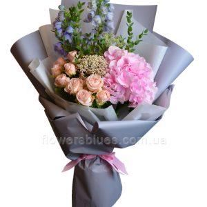 оригінальні букети квітів фото