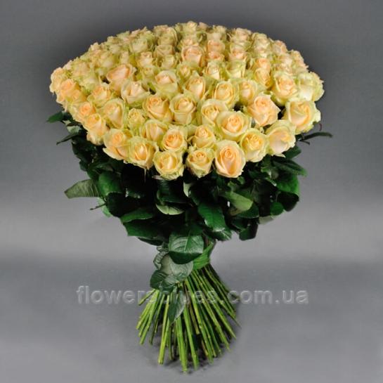 букет з 101 рози