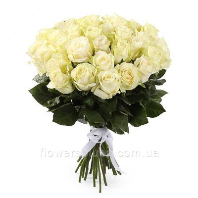 букет із білих роз