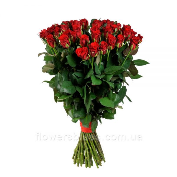 51 троянда букет