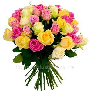 букет троянд фото