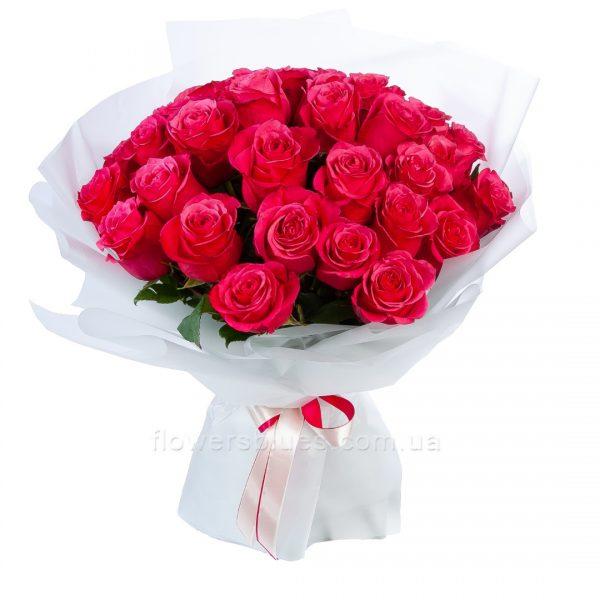 оригінальний букет троянд