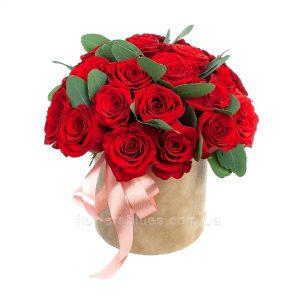троянди в коробці фото