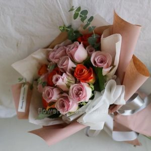 ніжний букет квітів фото